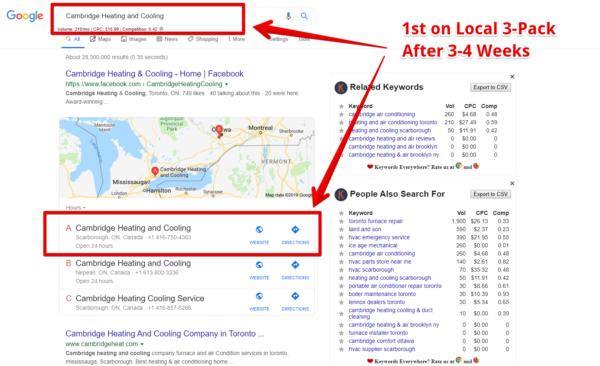 Google Map Pack Booster (Standard)